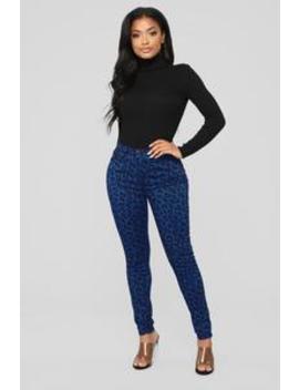 Wild At Heart Skinny Jeans   Blue by Fashion Nova