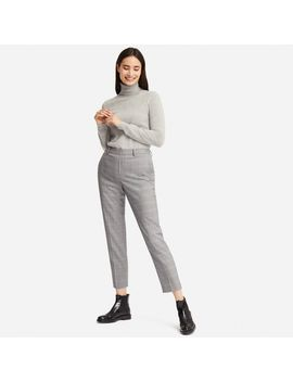 Ezy Ankle Length Pants (Glen Check) by Uniqlo