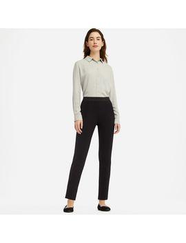 Ponte Slim Pants by Uniqlo