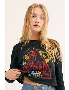 Def Leppard Long Sleeve Tee by Free People