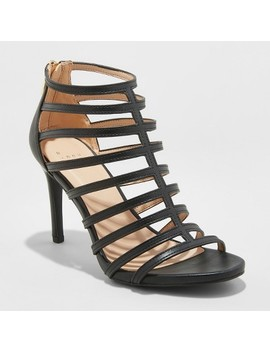Women's Charlene Caged Heel Pumps   A New Day™ by A New Day