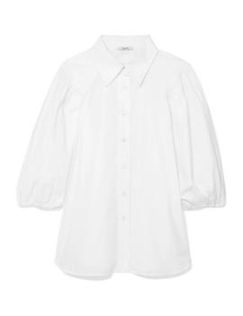 Olayan Cotton Poplin Shirt by Ganni