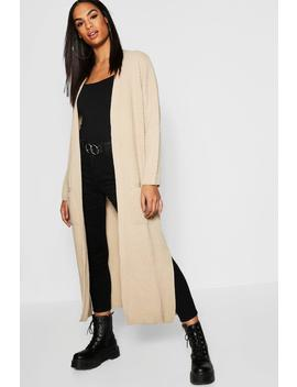 Tall Edge To Edge Maxi Cardigan by Boohoo