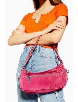Phoebe Nylon Shoulder Bag by Topshop