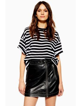 Tall Stripe Boxy T Shirt by Topshop