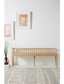 Chantal Spindle Bench by Anthropologie