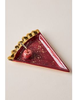 Paulette Pie Slice Trinket Dish by Anthropologie
