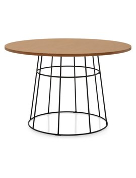 Mo Drn Industrial Griffin Round Dining Table by Mo Drn