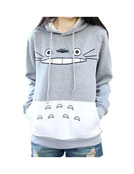 Acefast Inc Women's Totoro Hoodie Cosplay Costume Sweater Casual Pullover by Acefast Inc