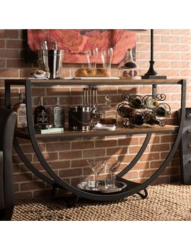 Baxton Studio Blakes Metal Console Table by Kohl's