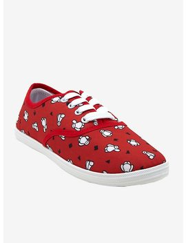 Disney Big Hero 6 Baymax Lace Up Sneakers by Hot Topic