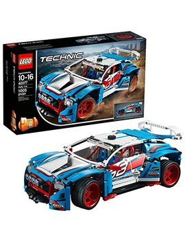 Lego Technic Rally Car 42077 Building Kit (1005 Pieces) by Lego
