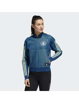 Boston Marathon® Id Knit Track Jacket by Adidas