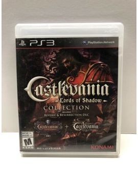 Castlevania: Lords Of Shadow Collection (Sony Play Station 3, 2013) Complete by Ebay Seller