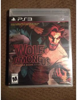 Wolf Among Us Playstation 3 Ps3 Video Game New Sealed by Ebay Seller