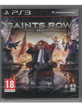 Saints Row Iv Ps3 Sony Playstation 3 Brand New Sealed Fast Shipping Saints Row 4 by Ebay Seller