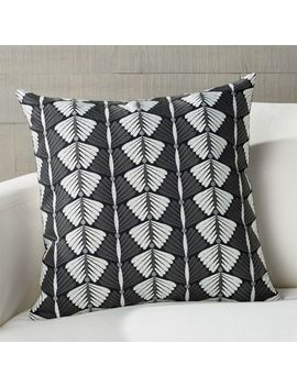 "Petrassi Embroidered Pillow 20"" by Crate&Barrel"