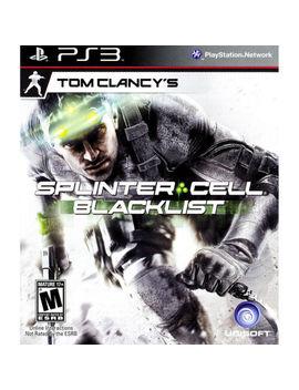 Tom Clancy's Splinter Cell: Blacklist Ps3 [Brand New] by Ebay Seller