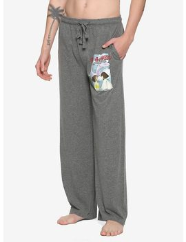 Studio Ghibli Spirited Away Poster Guys Pajama Pants by Hot Topic