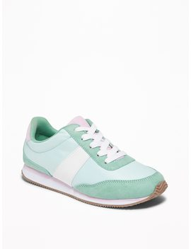Retro Color Blocked Sneakers For Girls by Old Navy