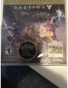 Destiny The Taken King Ps3 by Ebay Seller