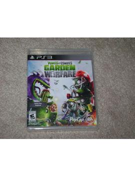 Plants Vs Zombies Garden Warfare...Ps3...***Sealed***Brand New***!!!!!! by Ebay Seller