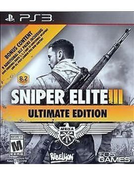 Sniper Elite Iii Ultimate Edition   Play Station 3 Complete by Ebay Seller