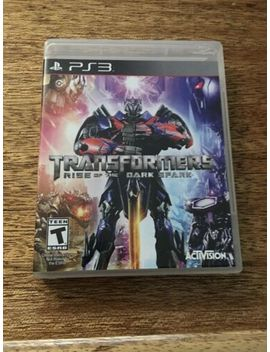 Transformers: Rise Of The Dark Spark (Sony Play Station 3, 2014) Ps3 by Ebay Seller