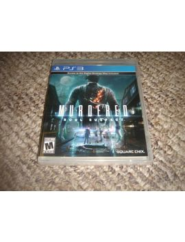 Murdered: Soul Suspect  (Sony Playstation 3, 2014) by Ebay Seller