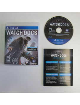 Watch Dogs   Complete   Very Good Condition (Ps3, 2014) by Ebay Seller