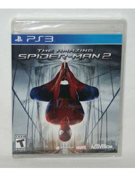 New The Amazing Spider Man 2 (Sony Play Station 3 2014) Ps3 Factory Sealed by Ebay Seller