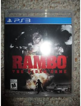 Rambo: The Video Game  (Sony Playstation 3, 2014) Ps3 Complete by Ebay Seller