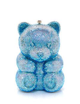 Gummy Teddy Bear Clutch Bag by Judith Leiber Couture