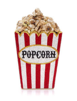 Popcorn Matinee Minaudiere Clutch Bag by Judith Leiber Couture