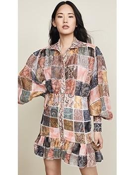 Ninety Six Patch Mini Dress by Zimmermann