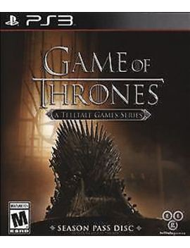 Game Of Thrones: A Telltale Games Series (Sony Play Station 3, 2015) by Ebay Seller