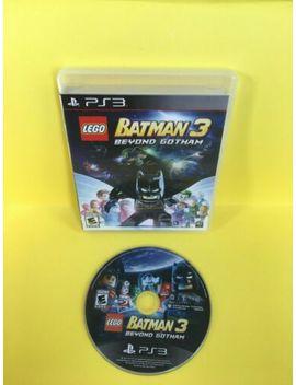 Ps3  Lego Batman 3 Beyond Gotham   Video Game / Tested by Ebay Seller