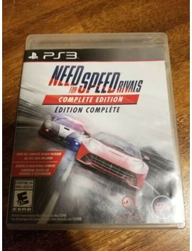 Need For Speed: Rivals    Complete Edition (Sony Play Station 3, 2014) Ps3 Tested by Ebay Seller
