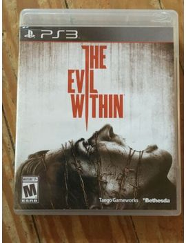 The Evil Within (Sony Play Station 3 Ps3, 2014) Complete In Box *Please Read * by Ebay Seller