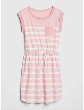 Stripe Pocket T Shirt Dress by Gap