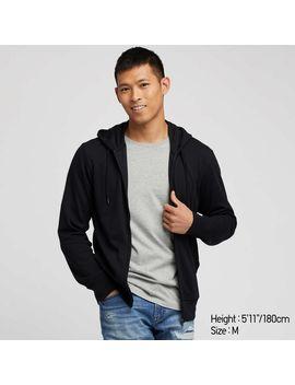 Ai Rism Uv Cut Long Sleeve Full Zip Hoodie by Uniqlo