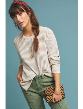Michael Stars Waffle Pullover by Michael Stars