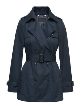 Water Resistant Short Trench Coat by Banana Repbulic