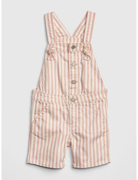 Stripe Denim Shortalls by Gap