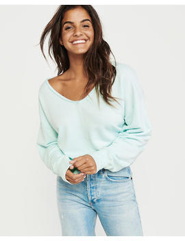 Supersoft Slouchy Sweatshirt by Abercrombie & Fitch