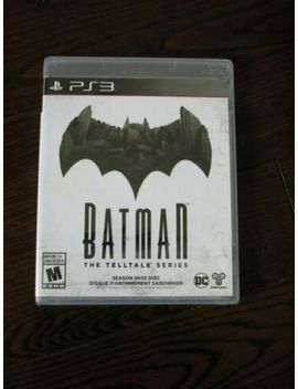 Brand New Batman: The Telltale Series    Season Pass Disc Game (Sony Ps3, 2016) by Ebay Seller