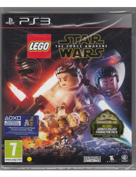 Lego Star Wars The Force Awakens Ps3 Play Station 3 Brand New Factory Sealed by Ebay Seller