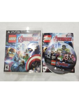 Lego Marvel's Avengers   Ps3 Complete Free Fast Shipping by Ebay Seller