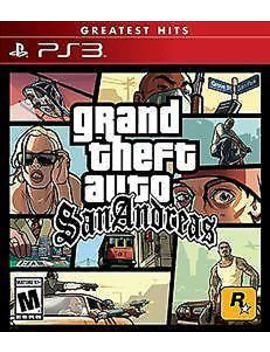 Grand Theft Auto: San Andreas   (Ps 3, 2015) (6938)          Free Shipping Usa by Ebay Seller