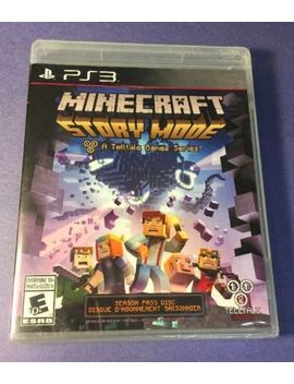 Minecraft Story Mode Season One [ Season Pass Disc ] (Ps3) New by Ebay Seller